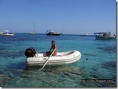 A zonzo con il tender - Lampedusa
