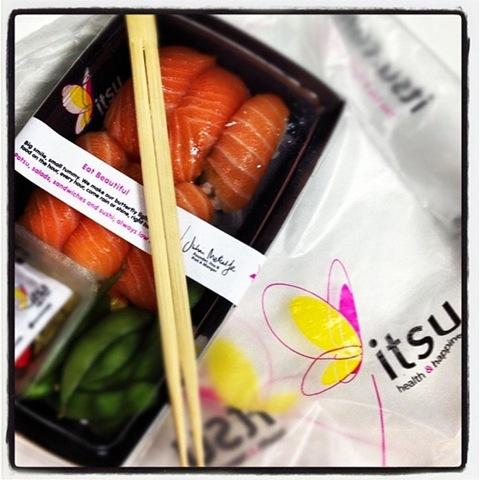 #90 - Itsu salmon nigiri