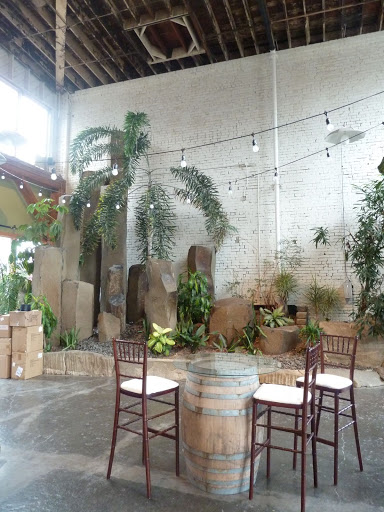 Sodo Park has a back room that's a bit of an oasis. We shared it with Brown Paper Design (they used it for their floral studio), and set up cameras and equipment to get some photos in the natural light.