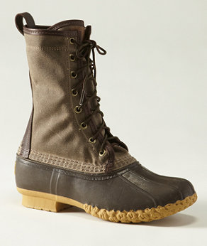 The shoe that started it all.  This is an updated version of the original made in waxed canvas from L.L. Bean Signature.