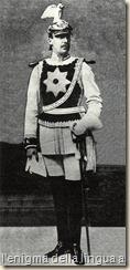 Il Principe di Wied nell'uniforme della guardia del corpo