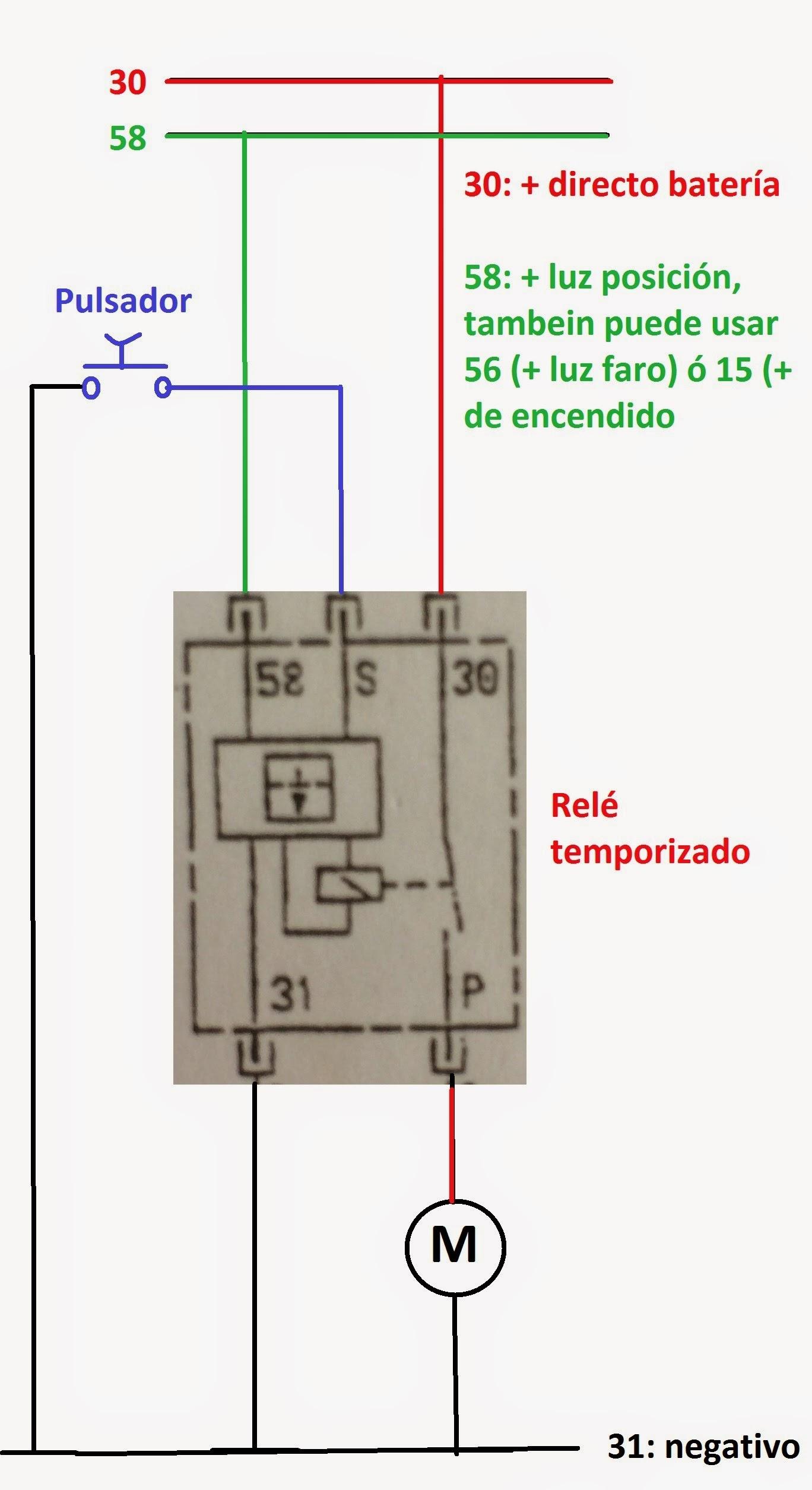 Circuito Electrico Basico : Circuito eléctrico del limpiaparabrisas u sistemas eléctricos del