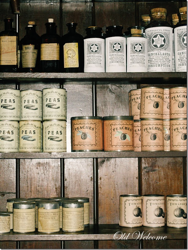 colonial style canned goods harpers ferry wv old welcome