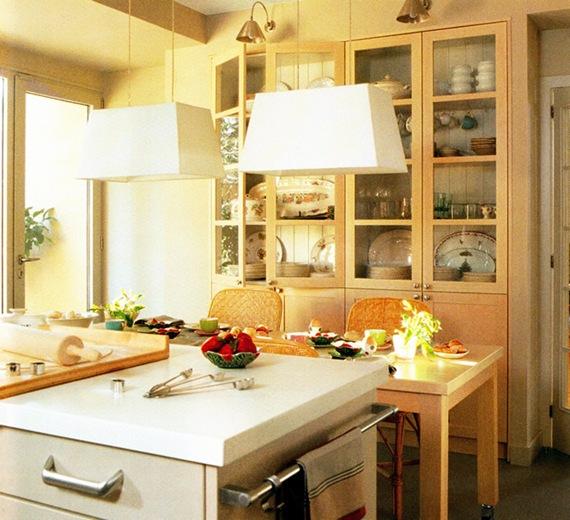 Cocina con diseño tradicional