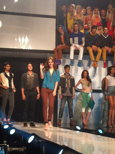 Leighton Meester for Penshoppe via StyleBiblePH&#39;s Twitter