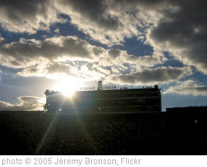 'Michigan Stadium Sunset' photo (c) 2005, Jeremy Bronson - license: http://creativecommons.org/licenses/by/2.0/