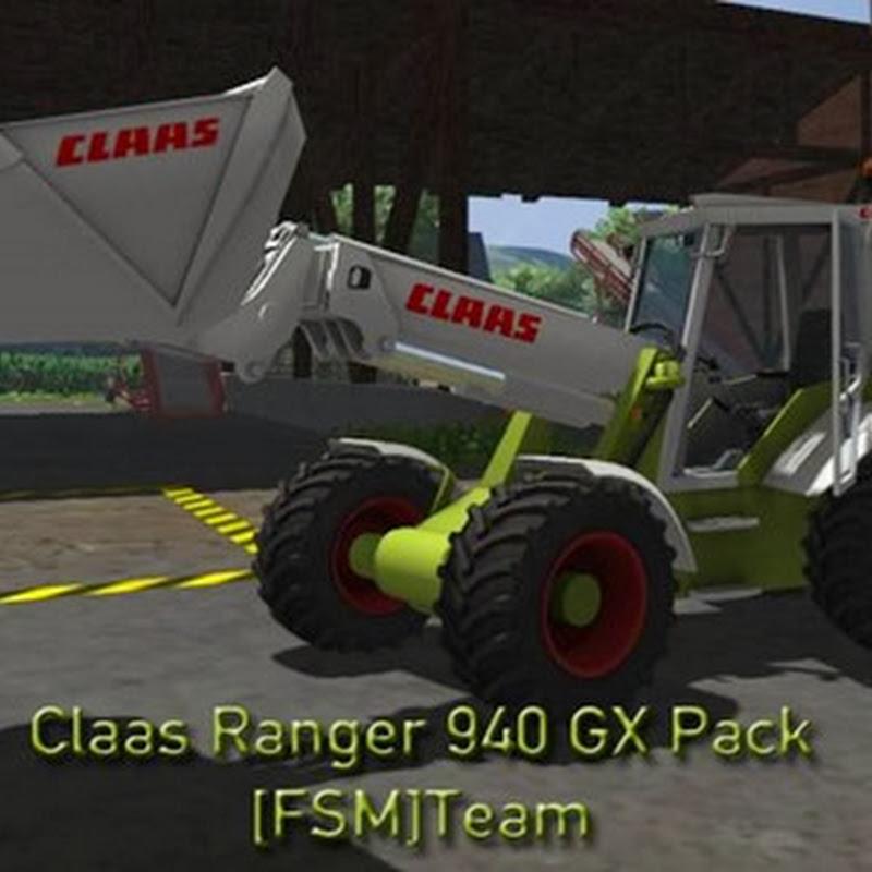 Farming simulator 2013 - Claas Ranger 940 GX v 1.2