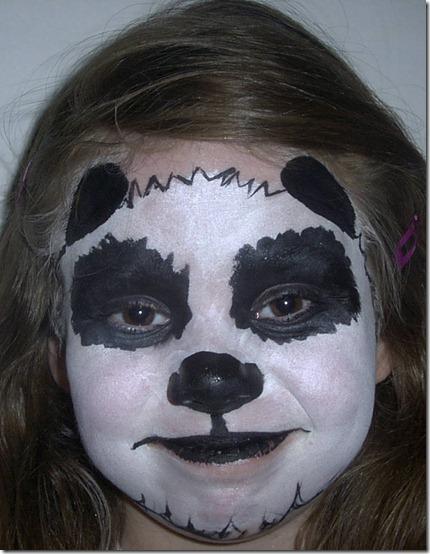 maquillaje de oso panda (8)