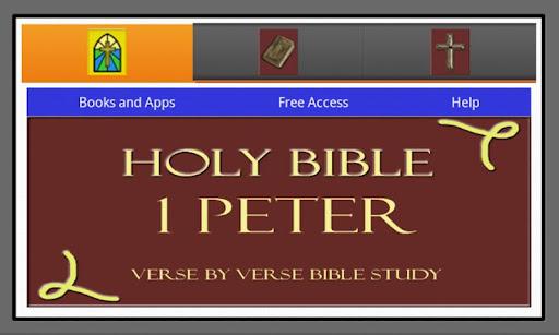 HOLY BIBLE: 1 PETER STUDY APP