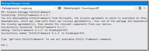 install-entity-framework-nuget-package