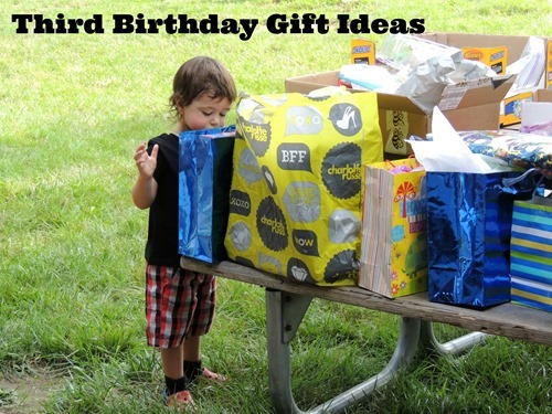 third birthday gift ideas