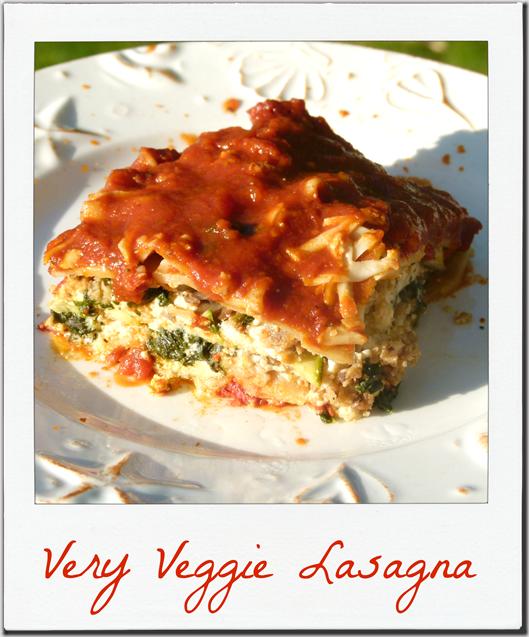 lasagna poloroid