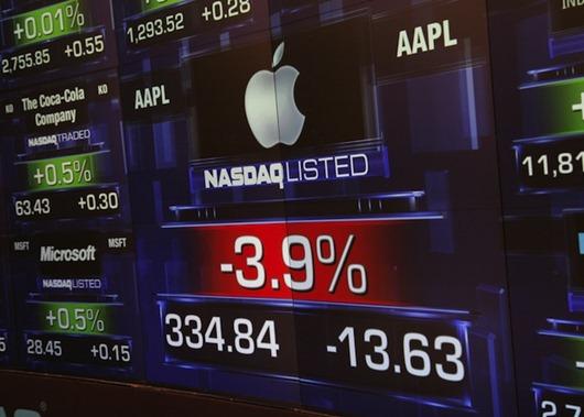apple-shares-fall