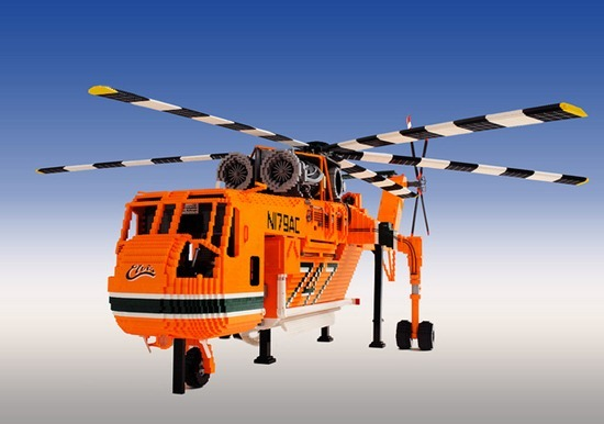 Helicóptero de Legos 04