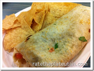 Rubio's Steak Baja Grill Burrito