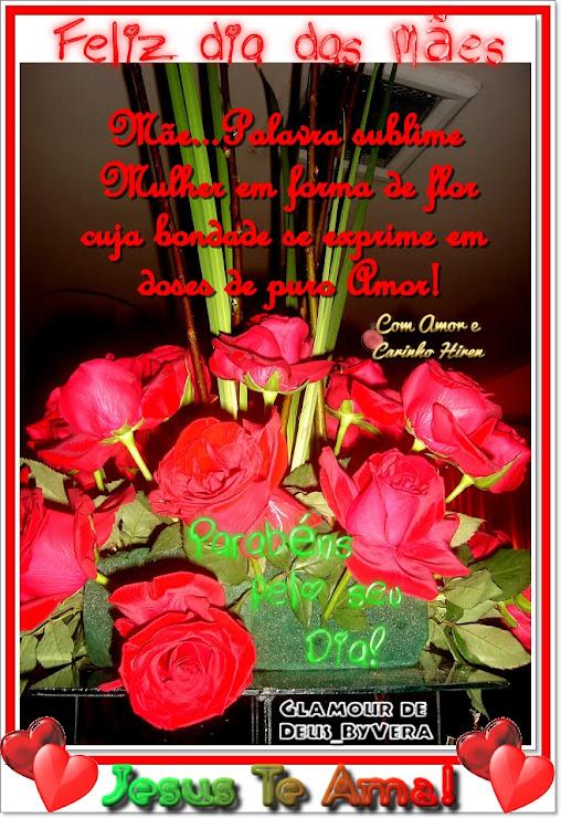 M�e palavra sublime Mulher em forma de flor cuja bondade