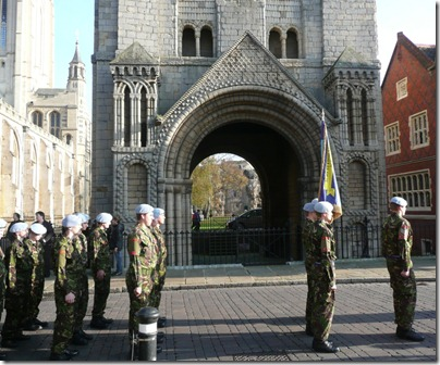 Suffolk Online - Remembrance Sunday In Bury St Edmunds