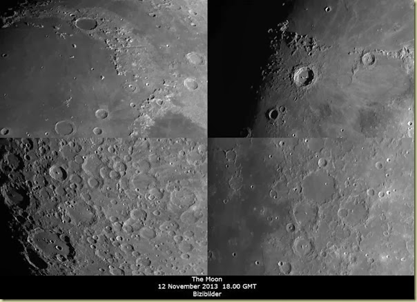 12 November 2013 Moon Close-ups