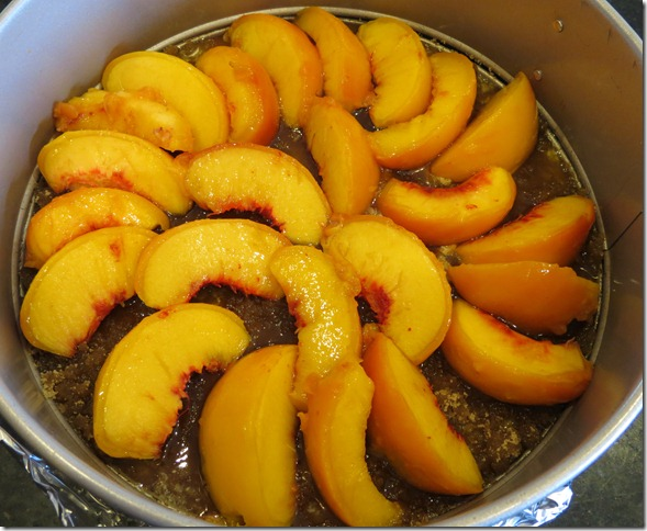 Peach Upside Down Cake--TWD