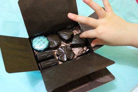 Giorgia e i cioccolatini
