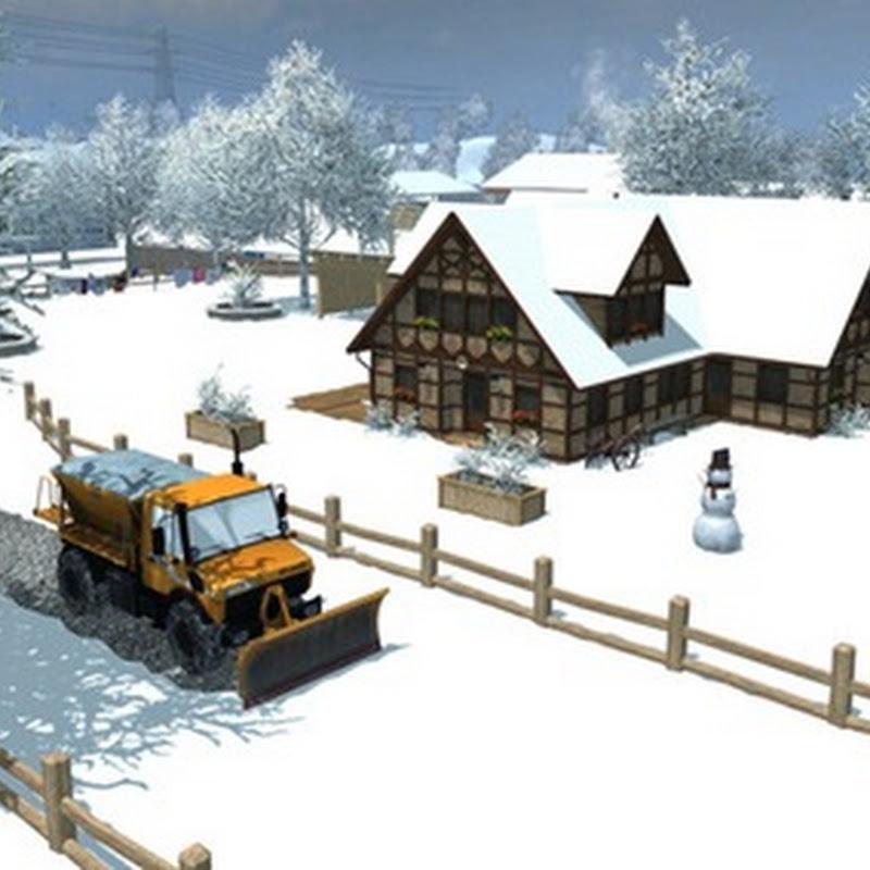 Farming simulator 2013 - Snowmod Beta v 1.0 (Mappa Neve)