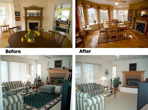Beforeafter Staging A Home
