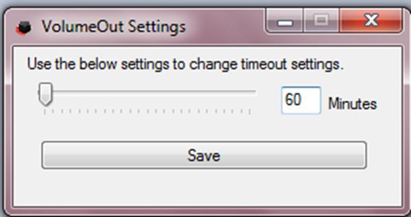 Baisser le volume du PC automatiquement