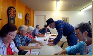 2011-12-14 - AZ, Yuma - Cactus Gardens - Ron Teaching Sudoku (1)