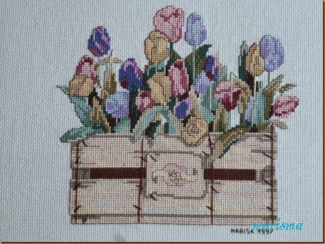 cuadro tulipanes mayo97,detalle copia