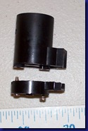 12 - Disassembled light socket, side view