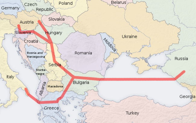 CC Photo Google Image Search Source is upload wikimedia org  Subject is South Stream map