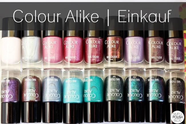 Colour-Alike-Bestellung