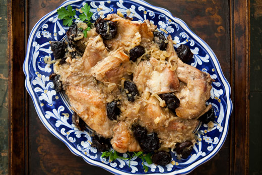 Braised Rabbit with Prunes