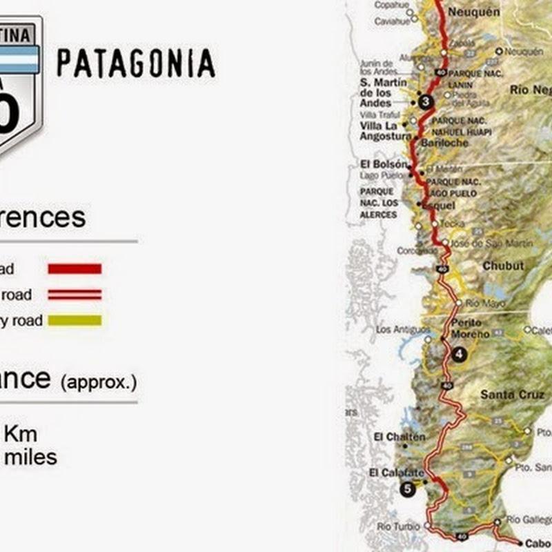 La ruta 40 explicada tramo a tramo: tramo sur.
