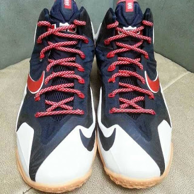 nike lebron 11 gr black white red mango 1 05 Possibly Upcoming New Nike LeBron 11 Mango