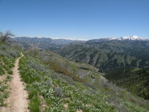 sheep mountain hike