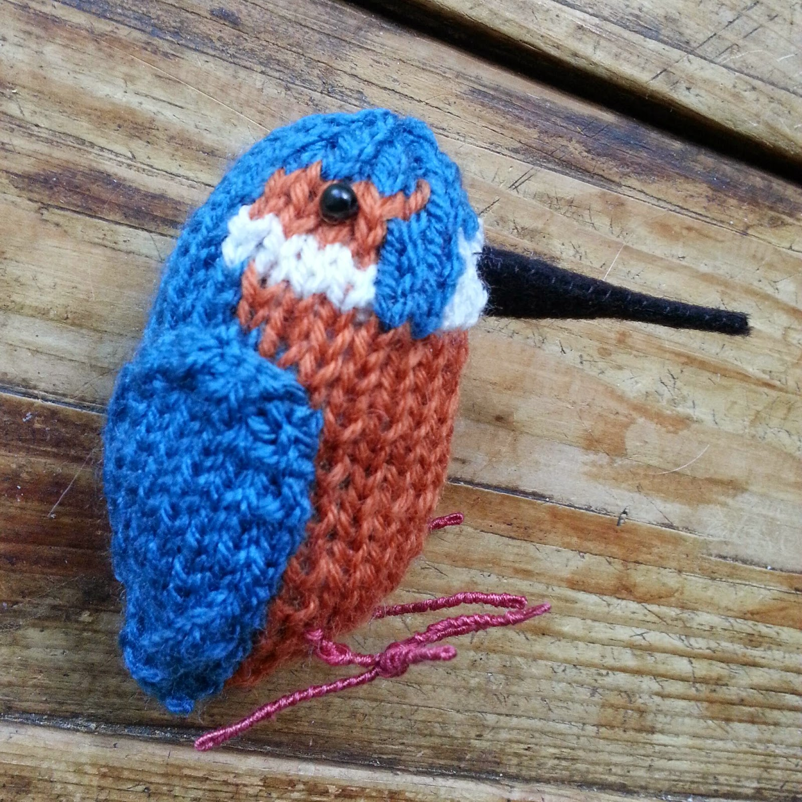 knit for victory kingfisher
