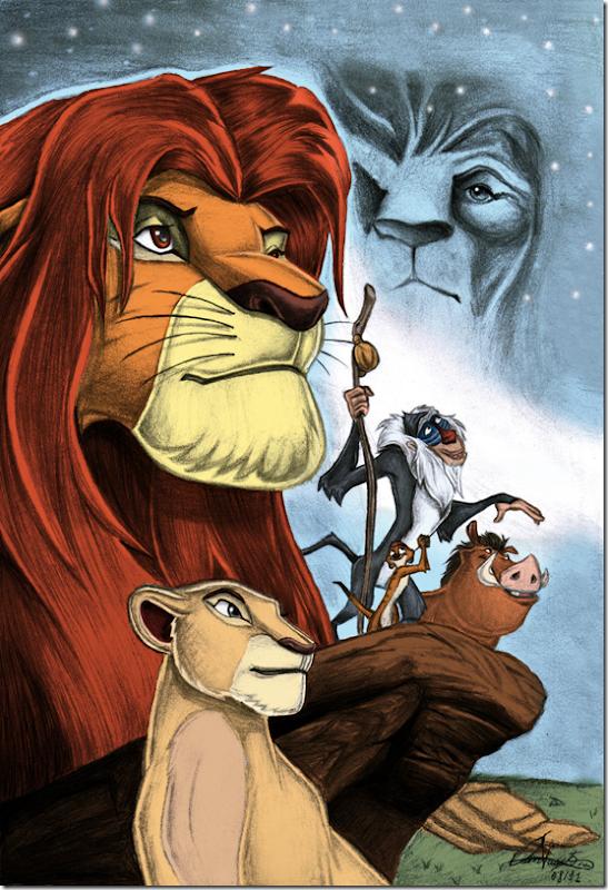 El Rey León,The Lion King,Simba (1)