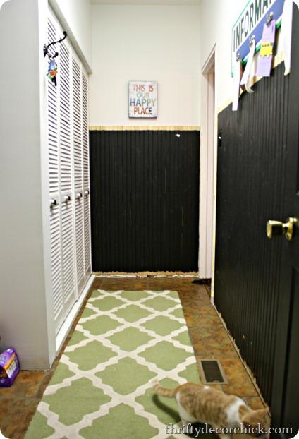 beadboard mud room
