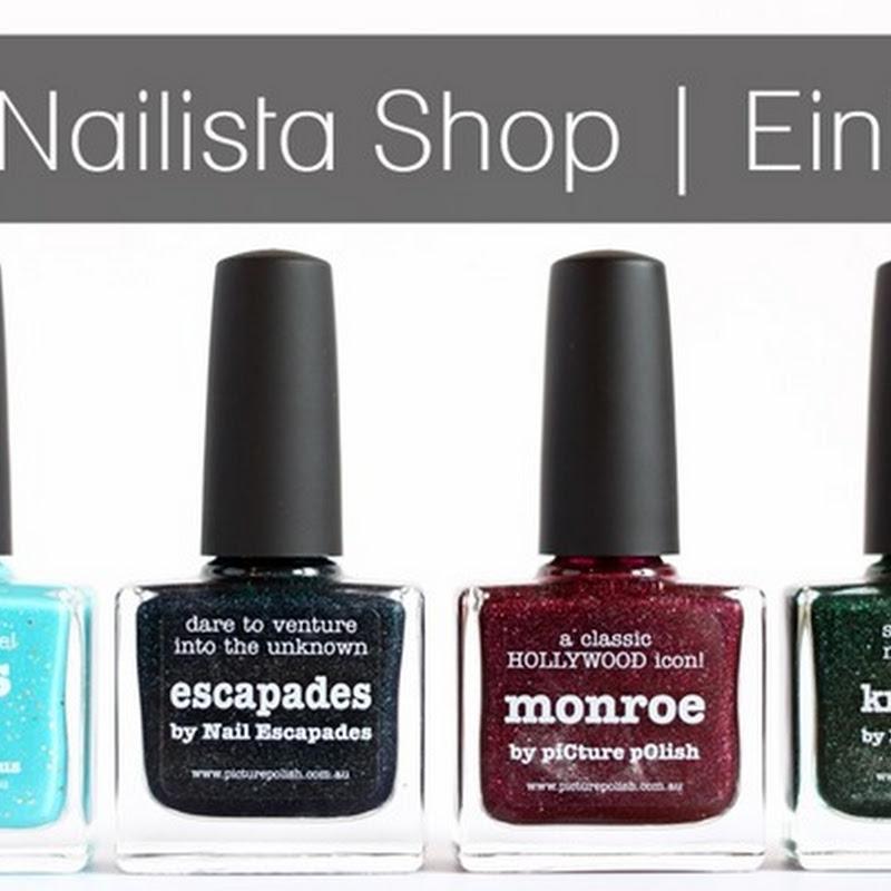 """mein Einkauf bei """"The Nailista Shop"""""""