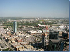 9867 Alberta Calgary Tower - view from Observation deck