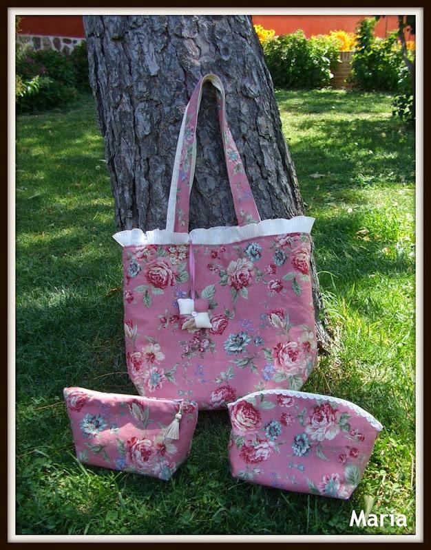 Conjunto flores rosa-5