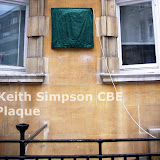 Keith Simpson Green Plaque