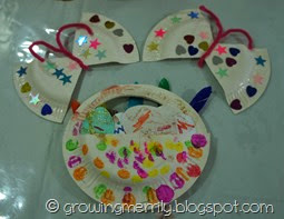 Butterfly and Easter Egg Paper Plate Crafts