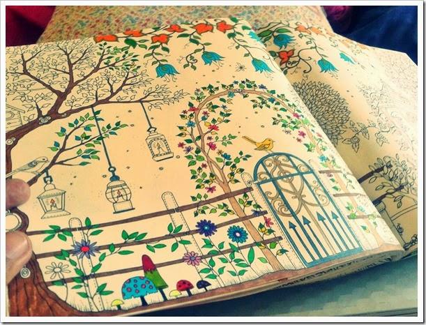 ideias para pintar o jardim secretoPara pintar usei uma caixa de cor