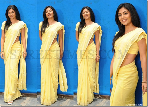 Kamalini_Mukherjee_Yellow_Saree