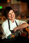 Executive chef at California's Grand Cafe, Alicia Jenish.