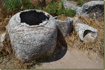 Aphrodisias Stone carved jars
