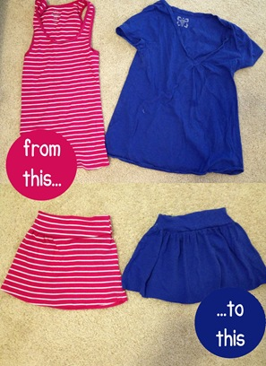 shirts to skirts