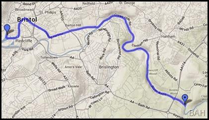 map bristol